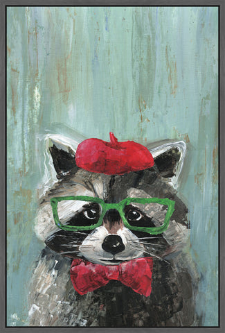 Raccoon the Painter