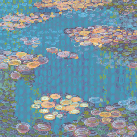 Homage to Water Lilies I