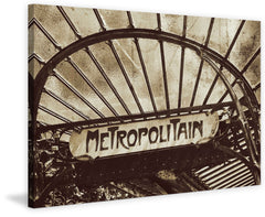 Paris Metro Sign 3