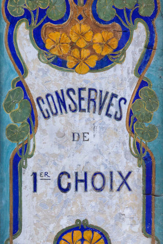 Paris Art Nouveau Sign