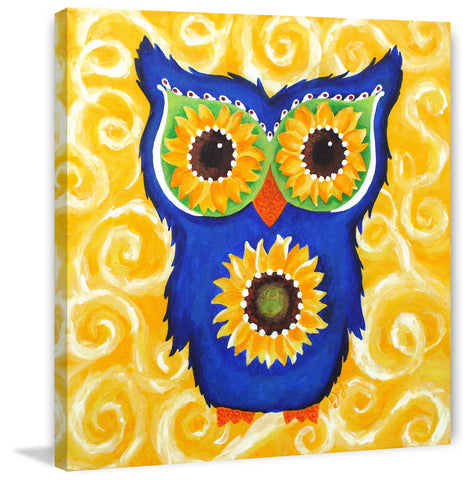 Sunflower Eyed Owl
