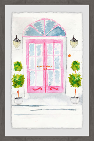 Pink French Doors