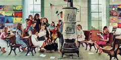 Norman Rockwell Visits a Country School