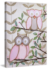 2 Pink Owls