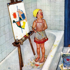 Artist in the Bathtub