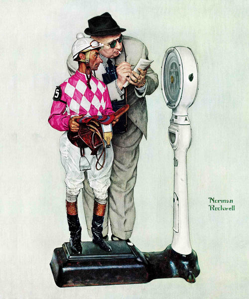 Jockey Weighing In