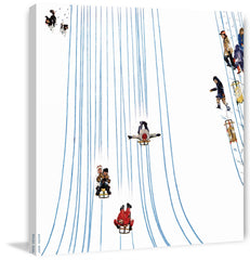 Sledding Designs in the Snow