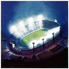 Football Stadium at Night