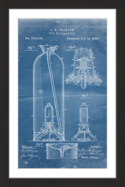 Extinguisher 1880 Blueprint