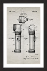 Flashlight 1923 Old Paper