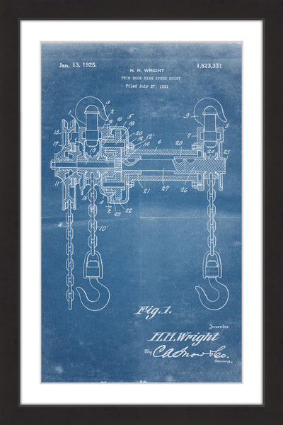 Hoist 1921 Blueprint