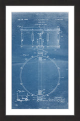 Snare Drum 1939 Blueprint
