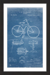 Bicycle 1891 Blueprint