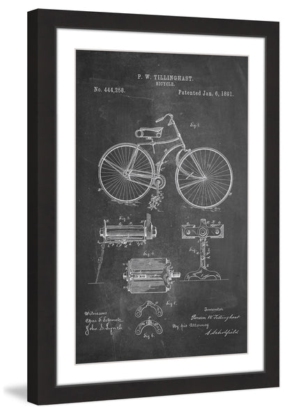 Bicycle 1891 Chalk