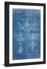 Boat Steering Wheel 1941 Blueprint