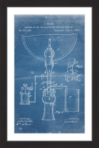 Bottling Beer 1884 Blueprint