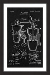 Coffee Mill 1905 Black Paper