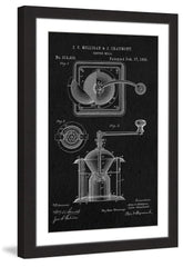 Coffee Mill 1885 Black Paper