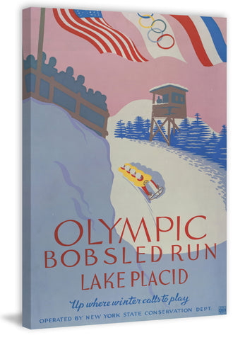 Olympic Bobsled Run