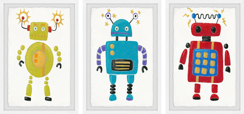 Electric Robots Triptych