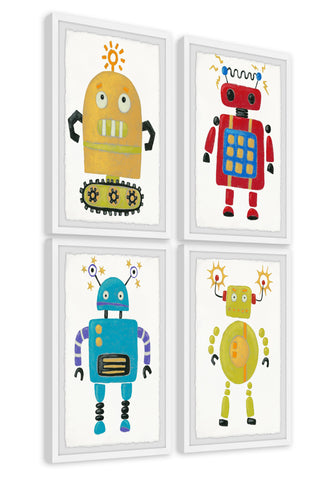 The Amazing Robots Quadriptych