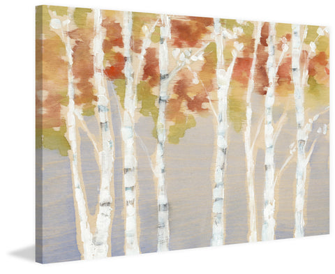 Swaying Birches I