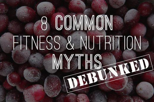 8 Fitness Myths Debunked