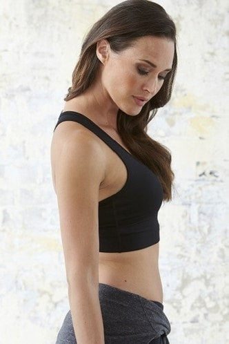 Studio Crop - Black - Be Activewear