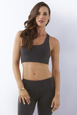 bayse Tanks Solid Crop Sports Bra