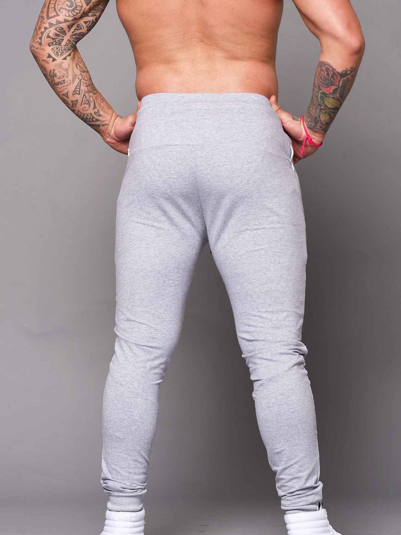 Mens Aesthetic Trackies - Grey - Be Activewear
