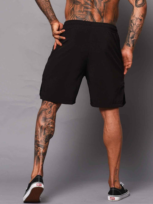 Bodybuilding Shorts - Black - Be Activewear