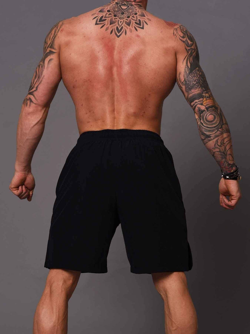 Bodybuilding  Shorts  - Blue - Be Activewear