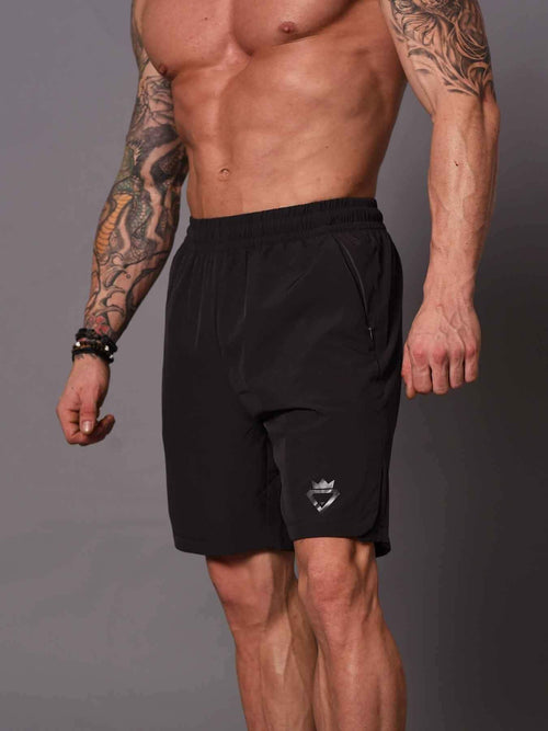 Bodybuilding Shorts - Dark Grey - Be Activewear