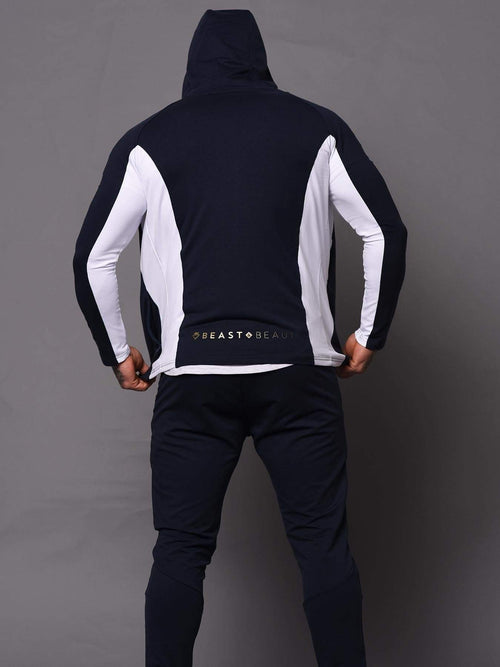 Mens Aesthetic Trackies - Blue - Be Activewear