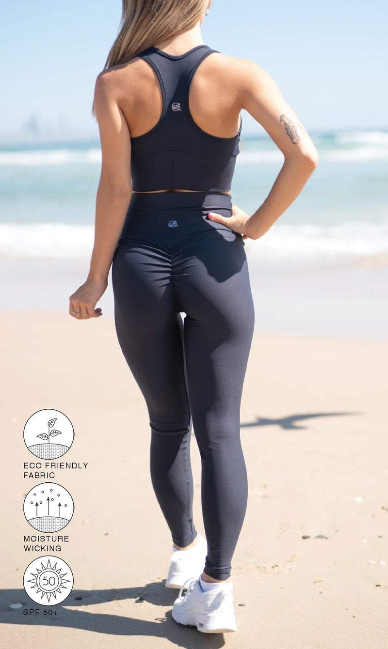 Midnight Scrunch Bum Leggings - Be Activewear