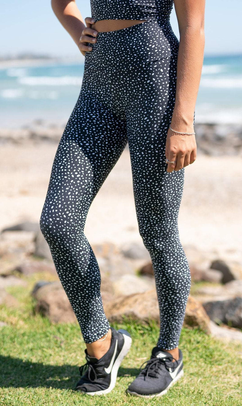 Star Dust Extra Long Leggings - Be Activewear