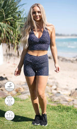 Star Dust Midi Shorts - Be Activewear