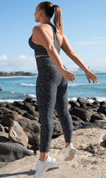 Star Dust Scrunch Bum Leggings - Be Activewear