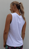 CLC Tank - White - Be Activewear
