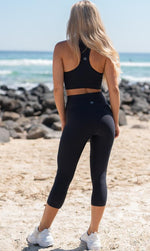 Midnight Capri Leggings - Be Activewear