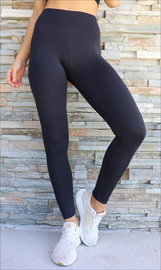 Midnight Body Luxe Full Length Leggings - Be Activewear