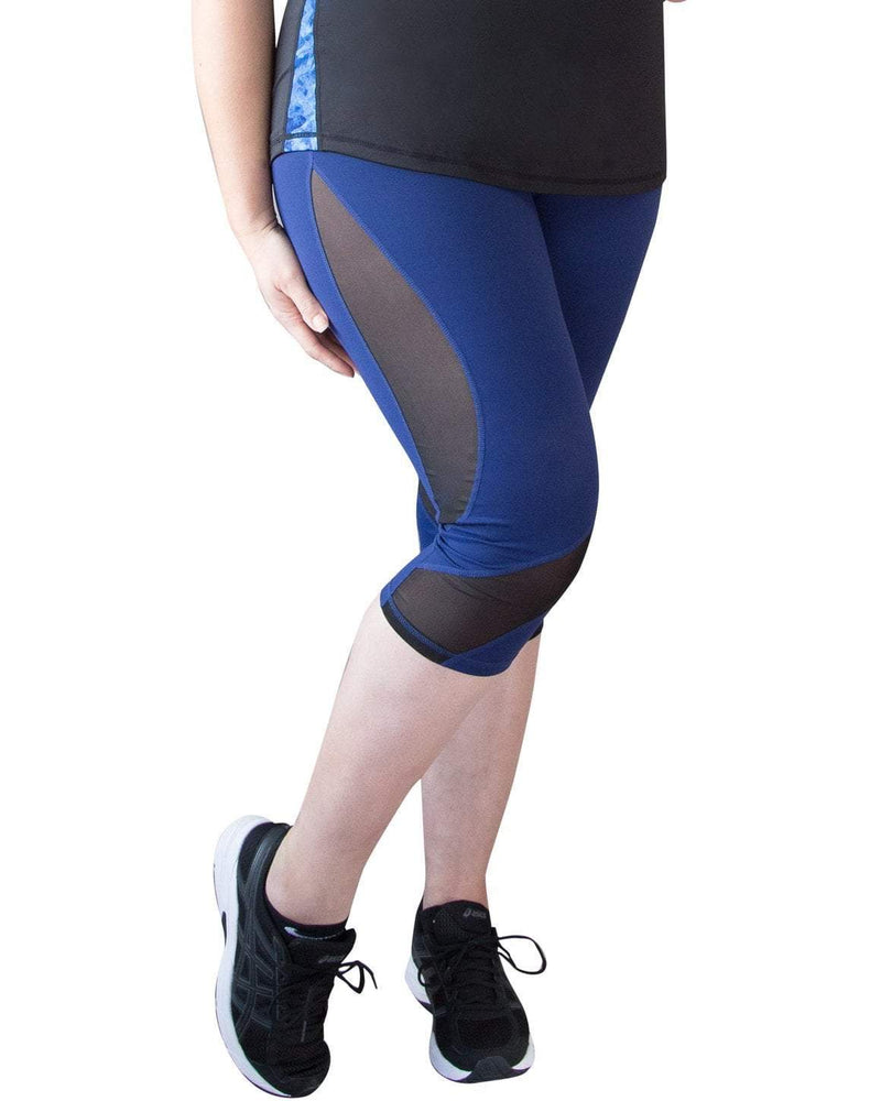 Curvy Chic Compression tights 14 Mesh Sculpt Tights