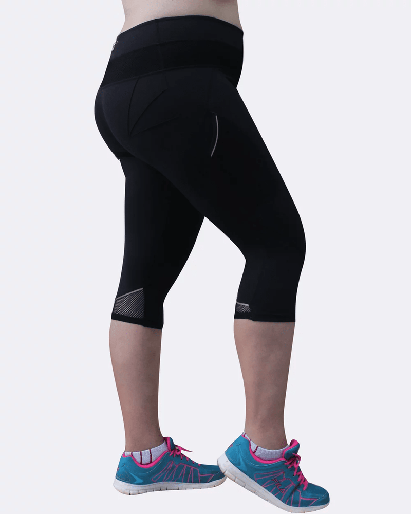 Curvy Chic Compression tights Mesh Sculpt Pocket Tights
