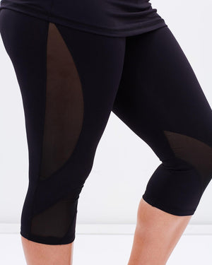 Curvy Chic Compression tights Mesh Sculpt Tights