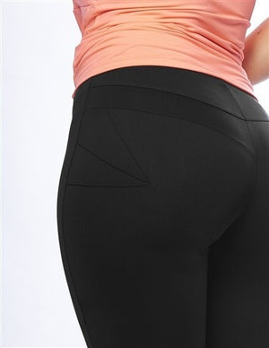 Curvy Chic Compression tights Sculpt 3/4 Tights - Black