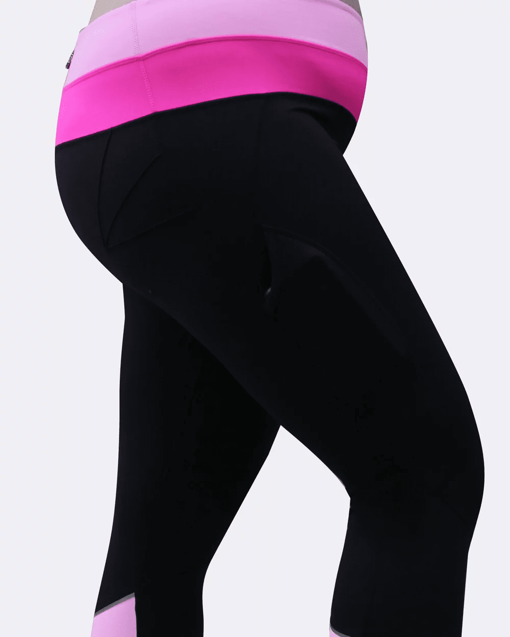 Curvy Chic Compression tights Two Tone Sculpt Pocket Tights