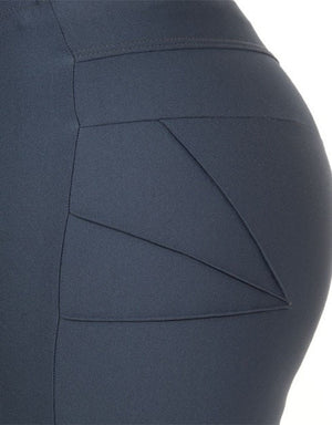 Curvy Chic Shorts Sculpt Bike Shorts - Charcoal