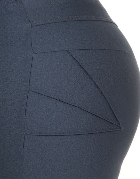 Sculpt Bike Shorts - Charcoal (SIZE 16 ONLY) - Be Activewear