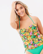 Fizz Tankini - Orange - Be Activewear