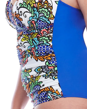 Curvy Chic Swimmers Tabada One Piece